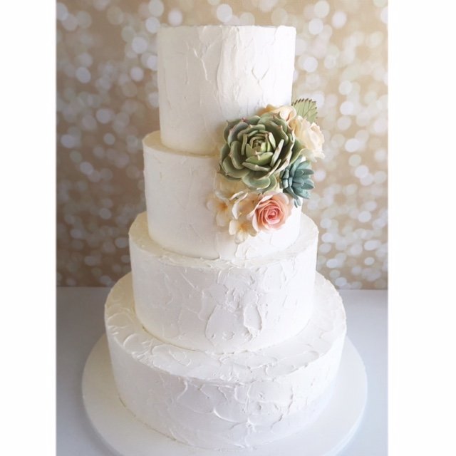 Rustic Stucco Wedding Cake Cakes Near Redlands Ca