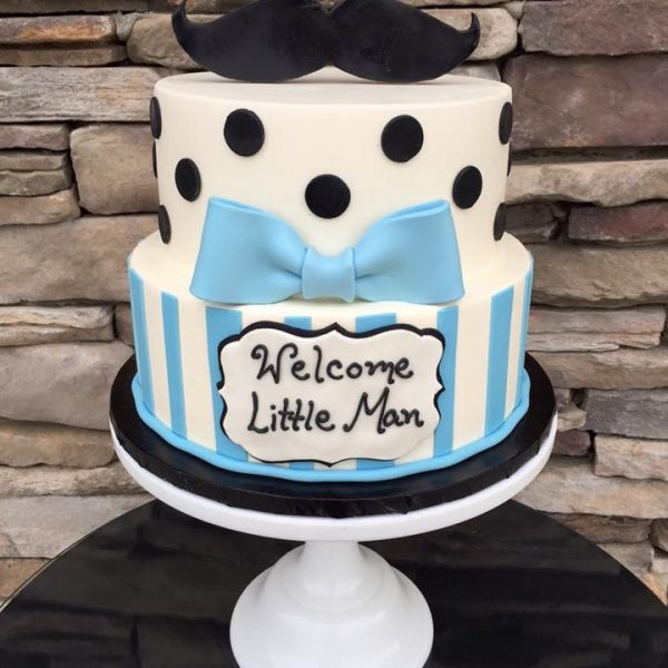 Tasteful Cakes Inc Welcome Little Man